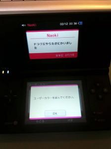 DS初期設定画面 7