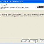 ActivePerlのインストールウィザード