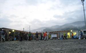 陸前高田災害ボランティアセンターの様子
