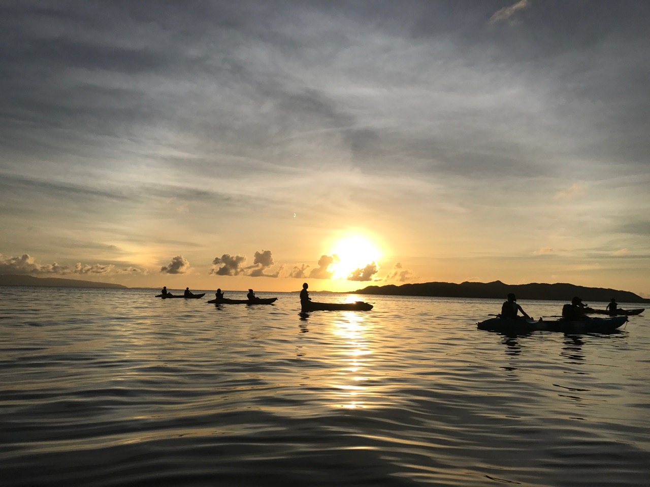Sunset Kayak Tour in Ishigaki Island